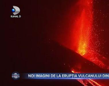 Noi imagini de la erupția vulcanului din La Palma