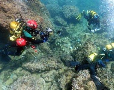 Doi scafandri au făcut o descoperire uluitoare pe fundul Mării Mediterane