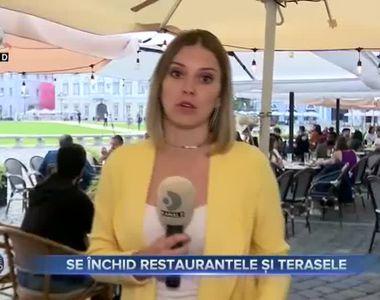 Se închid restaurantele și terasele