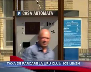 Taxă de parcare la spital - 105 lei pe 2 ore