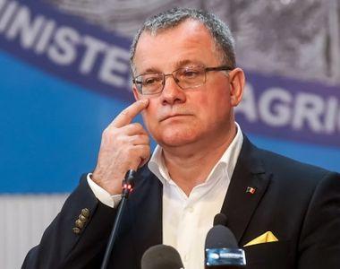 Adrian Oroș demisionează marți din funcția de ministru al Agriculturii