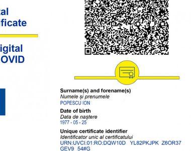 Ce păţeşti dacă foloseşti un certificat COVID falsificat? Avertismentul autorităţilor
