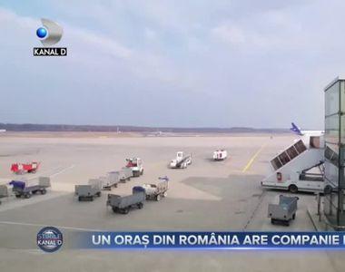 Un oraș din România are companie de zbor