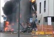 VIDEO|Avion privat românesc, prăbușit într-o clădire din Milano. Miliardarul Dan Petrescu, soția și fiul său au murit
