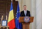 """Iohannis: Cuvântul care caracterizează cel mai bine România de azi este """"criză"""""""