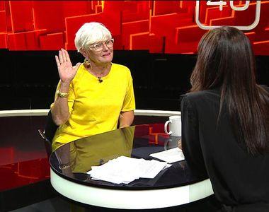 """Monica Tatoiu, invitată duminică, de la ora 22:45, la """"40 de întrebări cu Denise..."""