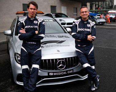 Echipajul maşinii medicale din Formula 1, bolnav de coronavirus. Cei doi bărbați au...