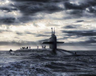 """Un submarin nuclear american s-a lovit cu un """"obiect neidentificat"""" în Marea Chinei de Sud"""
