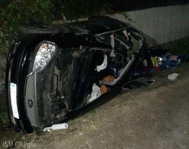 Accident grav pe DN 61: Două persoane au murit, iar alte trei au fost transportate la...