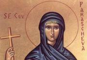 Sărbătoare 14 octombrie 2021: Ce nu este bine să faci de Sf. Parascheva. Este cruce roşie în calendarul ortodox!