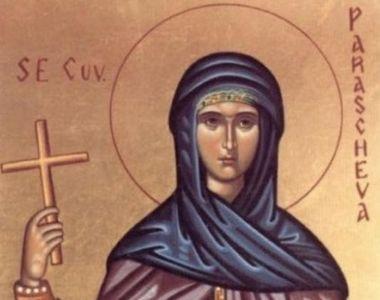 Sărbătoare 14 octombrie 2021: Ce nu este bine să faci de Sf. Parascheva. Este cruce...