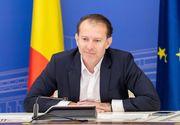 """Premierul interimar Florin Cîțu: """"Nu luăm în calcul carantinarea Capitalei"""""""