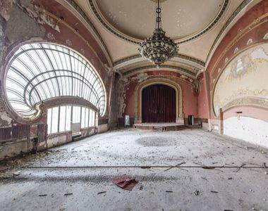 Fascinanta lume părăsită. Un fotograf francez surprinde locuri  abandonate din lume- FOTO