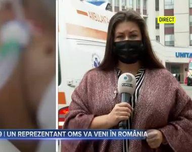 COVID-19- Un reprezentant OMS va veni în România