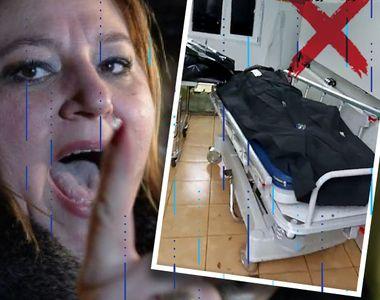 VIDEO | Diana Șoșoacă, scandal transmis LIVE în curtea spitalului Marius Nasta din...
