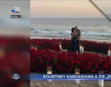 Kourtney Kardashian a zis `DA`