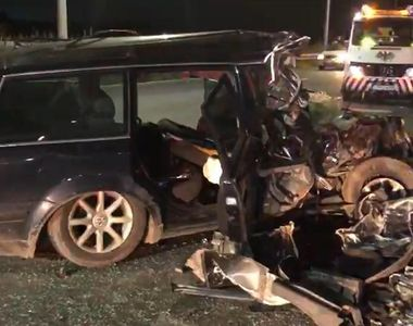 Accident teribil în Contanța. Un șofer începător a intrat cu mașina într-un TIR