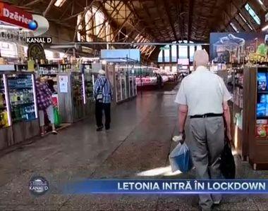 Letonia intră în lockdown