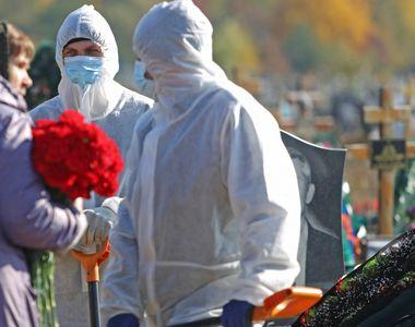 Rusia atinge un nou record absolut de decese COVID