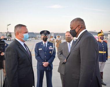 Secretarul american al Apărării Lloyd J. Austin, întâlnire cu Klaus Iohannis şi cu...