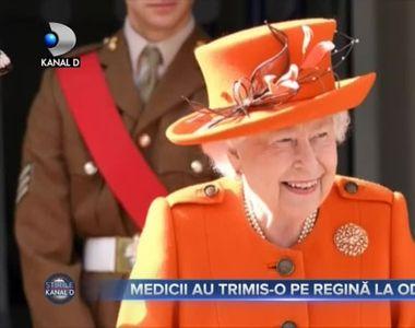 Medicii au trimis-o pe Regină la odihnă