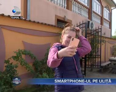 Smartphone-ul pe uliță