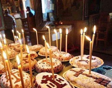 Ce se duce la biserică pentru pomenirea morţilor de Moşii de toamnă 2021?