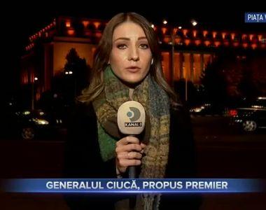 Generalul Ciuca, propus premier