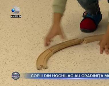 Copiii din Hoghilag au grădiniță modernă