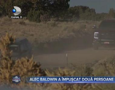 Alec Baldwin a împușcat două persoane la filmări