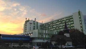VIDEO - Alertă de incendiu la Spitalul Judeţean din Timişoara