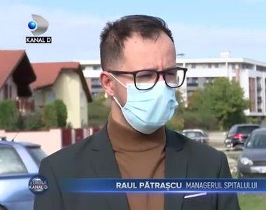 Alerta de incendiu la un spital din Timisoara
