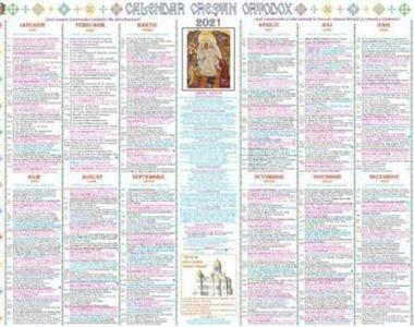 Calendar ortodox 25 octombrie 2021: Ce sărbătoare e azi?