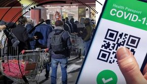 VIDEO | Cozi, scandal și bâlbâieli: așa a arătat prima zi în care Certificatul Verde a devenit cheia pentru a putea intra în instituții publice și în magazine