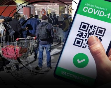VIDEO | Cozi, scandal și bâlbâieli: așa a arătat prima zi în care Certificatul Verde a...