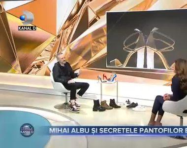 Mihai Albu si secretele pantofilor eleganti