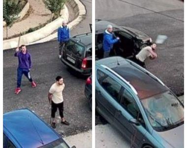 VIDEO | Înarmați cu săbii și bâte, patru agresori au băgat spaima într-o familie din...