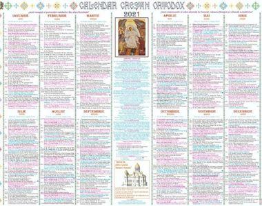 Calendar ortodox noiembrie 2021: Sărbători cu cruce roşie