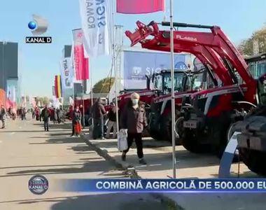 Combină agricolă de 500.000 euro