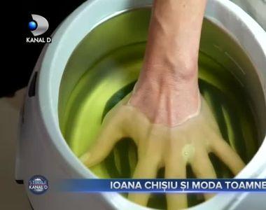 Ioana Chișiu și moda toamnei