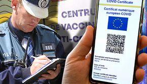 VIDEO | Un centru de vaccinare din sectorul 2, închis de procurori și polițiști. Suspiciuni legate de certificate false