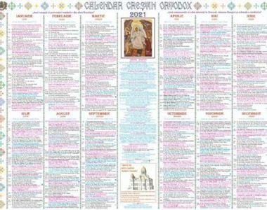 Calendar ortodox 29 octombrie 2021. Ce sărbătoare este vineri?