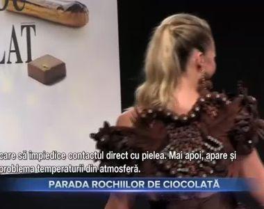 Parada rochiilor de ciocolată