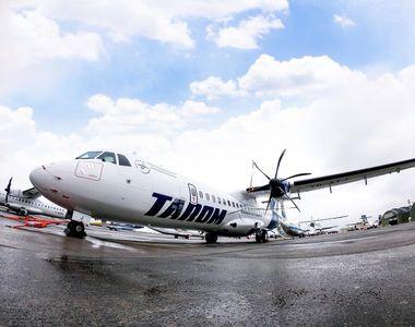 Incident aviatic la București. Un avion Tarom a revenit pe pistă