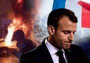 Noi proteste violente la Paris! Cel puţin 263 de răniţi şi 412 de persoane reţinute. Preşedintele Franţei a convocat reuniune de urgenţă