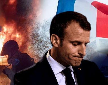 Noi proteste violente la Paris! Cel puţin 263 de răniţi şi 412 de persoane reţinute....