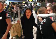 Cristina Nedelcu şi Mirel Drăgan s-au întors acasă de la Exatlon! Au fost aşteptaţi de fostii colegi! Ce a făcut fetiţa lui Mirel când şi-a văzut tatăl? Imagini emoţionante