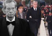 Imaginile care spun totul despre relaţiile din Familia Regală! Unde a stat fostul principe Nicolae la parastasul Regelui Mihai