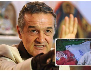 Gigi Becali nu s-a tinut de cuvant! S-a laudat ca ii cumpara casa micutului dar pana...