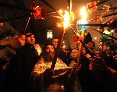 Stirile Kanal D, ora 12: Lumina Sfanta din Israel vine in Romania si de Craciun, nu...